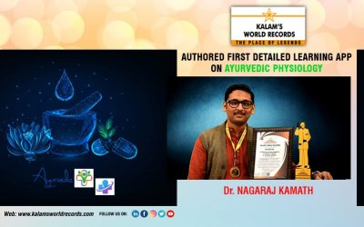 Authored First Detailed Learning App On Ayurvedic Physiology