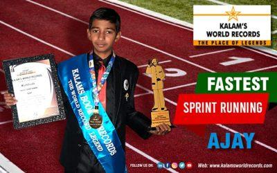 Fastest Sprint Running