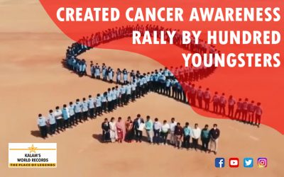Created Cancer Awareness Rally By Hundred Youngsters