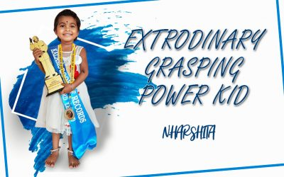EXTRODINARY GRASPING POWER KID