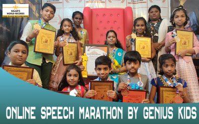 Online Speech Marathon by Genius Kids