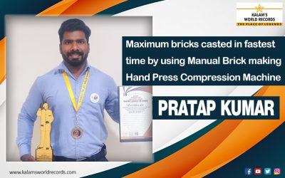 Maximum bricks casted in fastest time by using Manual Brick making Hand Press Compression Machine