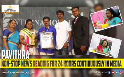 Non-Stop News Reading For 24 Hours Continuously in Media