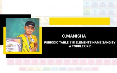 Periodic Table 118 Elements Name Sang By  A Toddler Kid