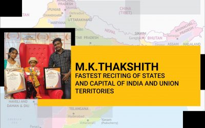 Fastest Reciting Of States And  Capital Of India And Union Territories