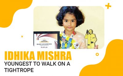 Youngest to Walk on a Tightrope