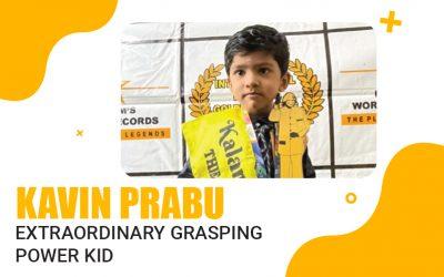 Extraordinary Grasping  Power Kid