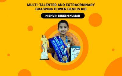 Multi-talented and Extraordinary Grasping Power Genius Kid