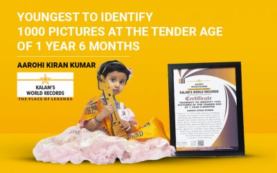 Youngest to Identify 1000 Pictures at the Tender Age of 1 Year 6 Months
