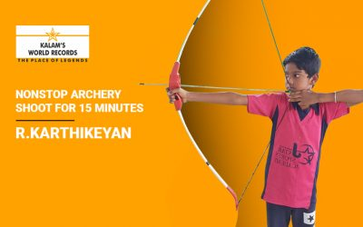 Nonstop Archery Shoot for 15 Minutes