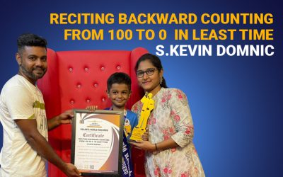 Reciting Backward Counting From 100 to 0  in Least Time