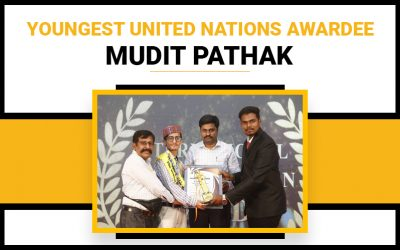 Youngest United Nations Awardee