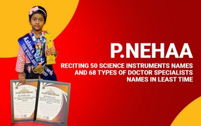 Reciting 50 Science Instruments Names and 68 Types of Doctor Specialists Names in Least Time