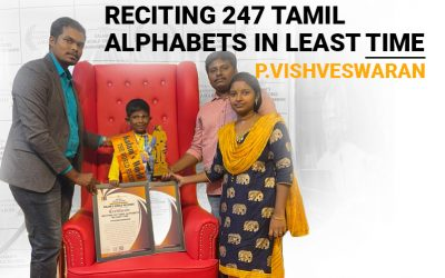 Reciting 247 Tamil Alphabets in Least Time