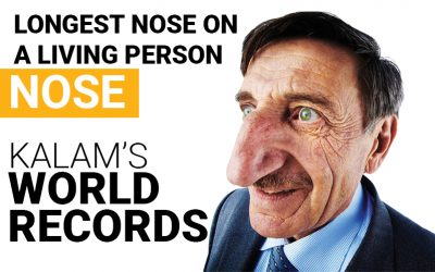 Longest Nose on  A Living Person