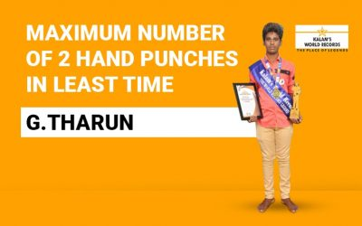 Maximum Number Of 2 Hand Punches In The Least Time