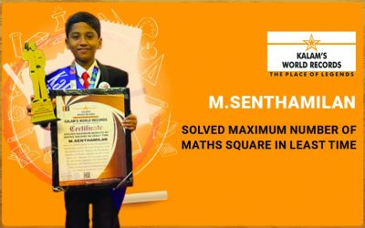 Solved Maximum Number of Maths Square in the Least Time