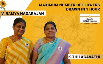 Maximum Number of Flowers Drawn in 1 Hour
