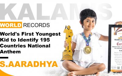World's First Youngest Kid to Identify 195 Countries National Anthem