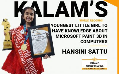Youngest Little Girl to Have Knowledge About Microsoft Paint 3d in Computers