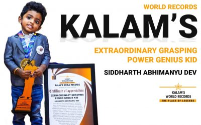 Extraordinary Grasping Power Genius Kid