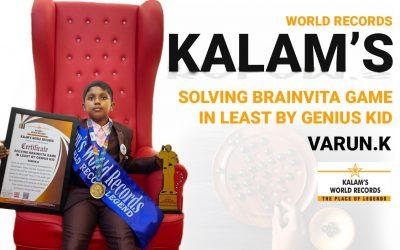 Solving Brainvita Game in Least by Genius Kid