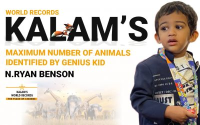 Maximum Number of Animals Identified by Genius Kid