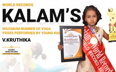 Maximum Number of Yoga Poses Performed by Young Kid
