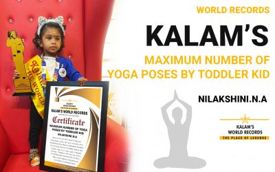 Maximum Number of Yoga Poses by Toddler Kid