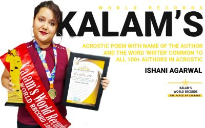 Acrostic Poem With Name of the Author and the Word 'writer' Common to All 100+ Authors in Acrostic.