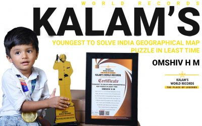 Youngest to Solve India Geographical Map Puzzle in the Least Time